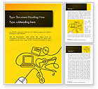 Art & Entertainment: Media Content Concept Word Template #14634