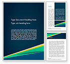 Abstract/Textures: Business Brochure Style Word Template #14645