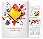 Careers/Industry: Fire Prevention Equipment Word Template #14670