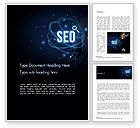 Technology, Science & Computers: Magic of SEO Word Template #14688