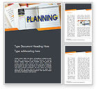 Business: Planning Concept Word Template #14705