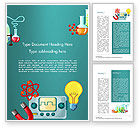 Education & Training: Science Education Word Template #14744
