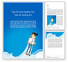 Business Concepts: Startup Business Project Word Template #14747