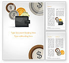 Financial/Accounting: Cash Word Template #14782