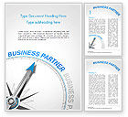 Business Concepts: Finding Business Partner Concept Word Template #14853
