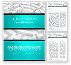 Business Concepts: Labyrinth of Decision Word Template #14883