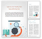 Education & Training: Information Search Word Template #14900