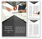 Business Concepts: Consultation Word Template #14954