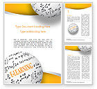 Education & Training: E-Learning Word with Formulas Word Template #14959