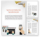 Financial/Accounting: Financial Analysts Word Template #15075