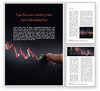 Business Concepts: Candlestick Chart Word Template #15086