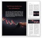 Business Concepts: Candlestick-diagramm Word Vorlage #15086