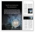 Technology, Science & Computers: Bit Word Vorlage #15092