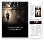 Business Concepts: Out of Darkness Word Template #15098