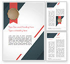Abstract/Textures: Certificate with Modern Pattern Word Template #15103