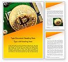 Technology, Science & Computers: Bitcoin-bergbau Word Vorlage #15116