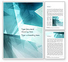 Abstract/Textures: Broken Ice Pieces Word Template #15117