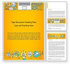 Business Concepts: Human Resources Illustration Word Template #15121