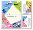 Holiday/Special Occasion: Summer Vacations Word Template #15236