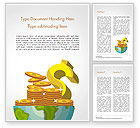 Business Concepts: Global Economy Word Template #15244