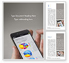 Financial/Accounting: Financiële Mobiele App Word Template #15265