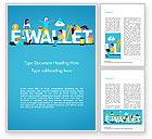 Financial/Accounting: E-wallet Word Template #15304