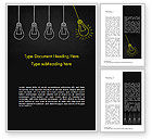 Education & Training: Trigger Creativiteit Word Template #15329