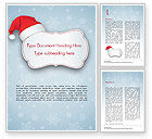 Holiday/Special Occasion: Sneeuwvlok Ornament En Kerstmuts Word Template #15341