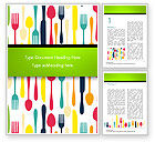 Food & Beverage: Bestek Patroon Word Template #15348