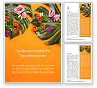 Nature & Environment: Monstera Vertrekt En Bloeit Word Template #15350