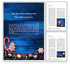 Holiday/Special Occasion: Christmas Decorations Word Template #15363