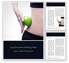 People: Food and Exercise Word Template #15378