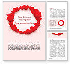 Holiday/Special Occasion: Cirkel Van Harten Word Template #15438