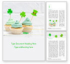 Holiday/Special Occasion: St. Patrick's Day Desserts Word Template #15491