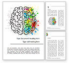 Education & Training: Mindset Word Template #15500