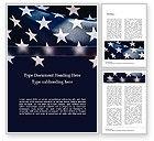 Flags/International: Nahaufnahmefoto von usa-flagge Word Vorlage #15566