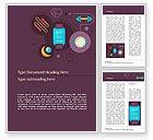 Sports: Healthy Lifestyle Illustration Concept Word Template #15576