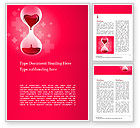 Medical: Blood Donation Word Template #15587
