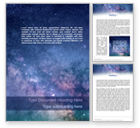 Nature & Environment: Celestial Word Template #15613