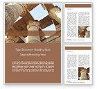 Construction: Karnak-tempel Word Vorlage #15634
