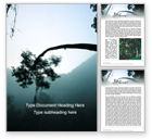 Nature & Environment: Rainforest Sunrise Word Template #15640