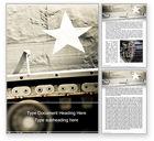 Military: Militärpanzer Word Vorlage #15668