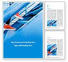 Business Concepts: Modello Word - Persona intensificando le scale blu #15676