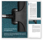 Careers/Industry: Carpet Cleaning Service Word Template #15681
