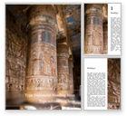 Construction: 古代エジプトの象形文字 - Wordテンプレート #15705
