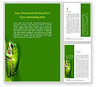 General: Northern Dwarf Tree Frog Word Template #15854