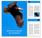 Nature & Environment: Modèle Word gratuit de aigle à tête blanche #15862