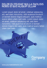 Legal: Plantilla de publicidad - alguacil #01285