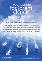 Military: 海軍 - 広告テンプレート #01614