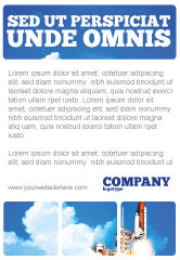Construction: 空间研究广告模板 #01634